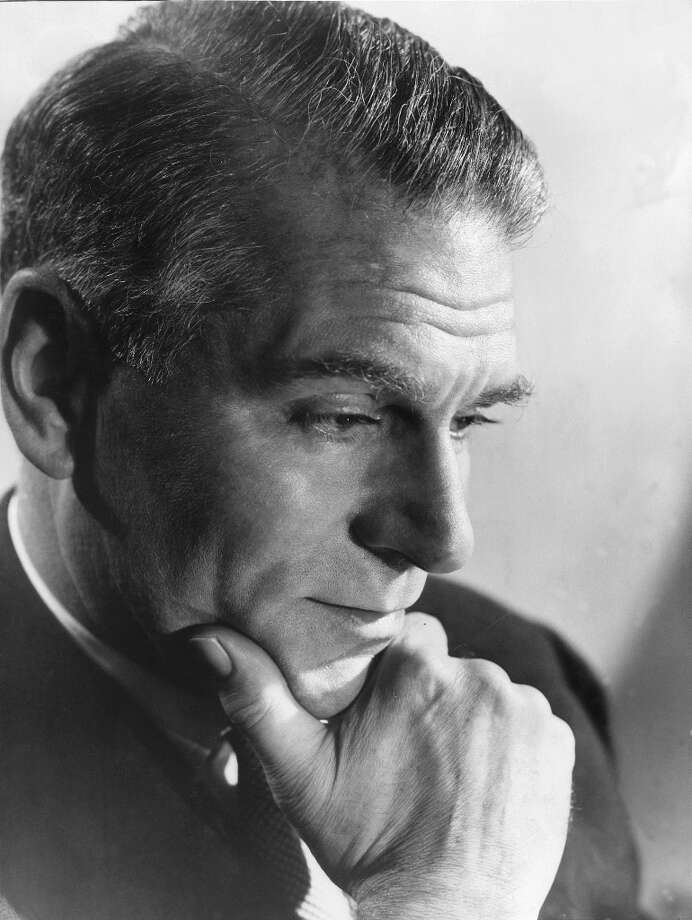 Laurence Olivier -- actor, director, stage star. Photo: STAFF, AFP/Getty Images / AFP