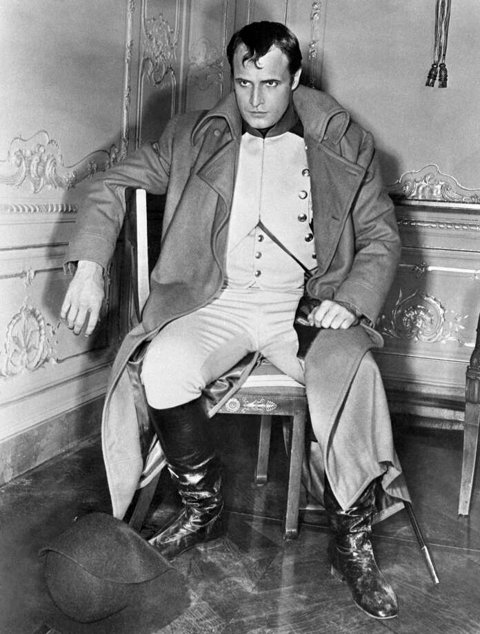 Marlon Brando -- when he was in good shape.  In the Fifties. Photo: AFP, AFP/Getty Images / 2011 AFP