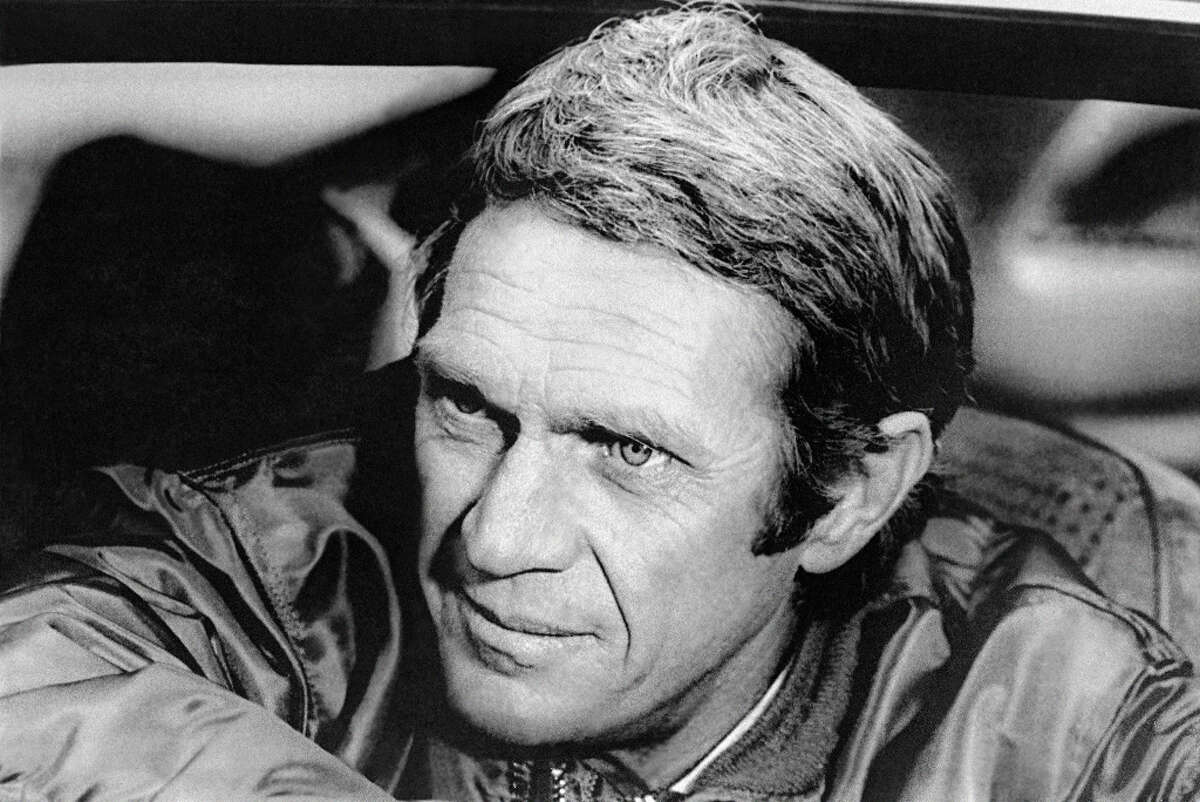 Steve McQueen - (U.S. Marines Corps 1947-50) McQueen joined the Marines Corps at 17 and worked as a tank driver and mechanic. www.military.com