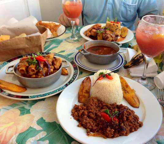 Picadillo criollo and other specialties at La Casita Blanca