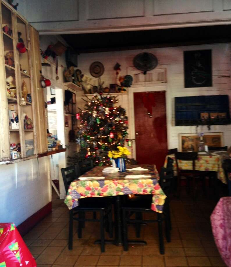 It's always Christmas at La Casita Blanca