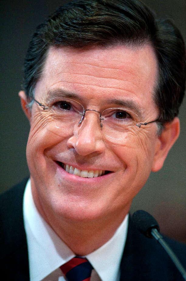 Stephen Colbert, # 2 (AP Photo/Cliff Owen, File). Photo: Cliff Owen, AP / AP2011