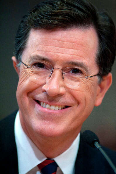 Stephen Colbert, # 2 (AP Photo/Cliff Owen, File).
