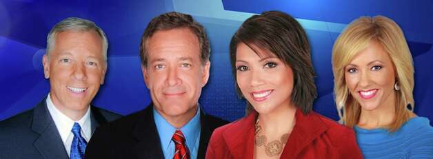 Doing the news -- 5,6,6:30,10 p.m.: John Gerard (weather), Randy Beamer, Elsa Ramon and Delaine Mathieu.