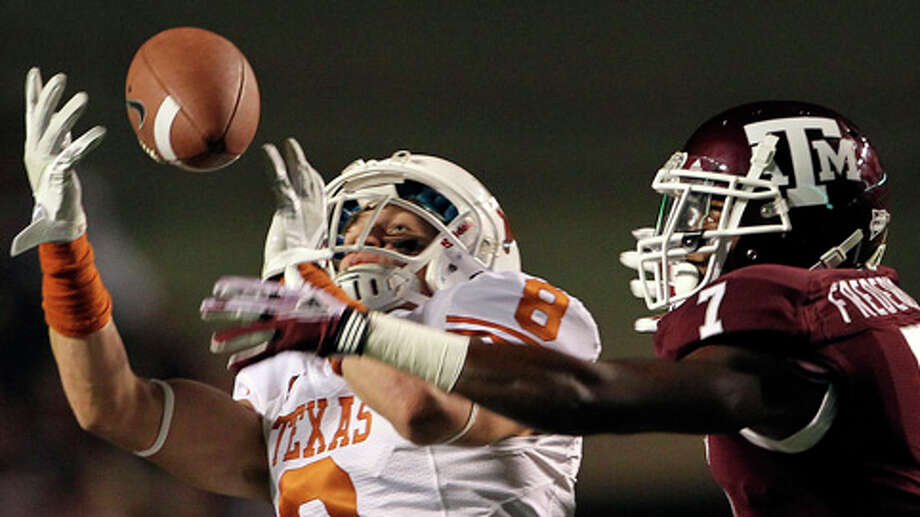 The Longhorns and Aggies have not played each other since 2011 in College Station, their final meeting as Big 12 opponents. (Tom Reel/Houston Chronicle) Photo: TOM REEL, . / © 2011 San Antonio Express-News