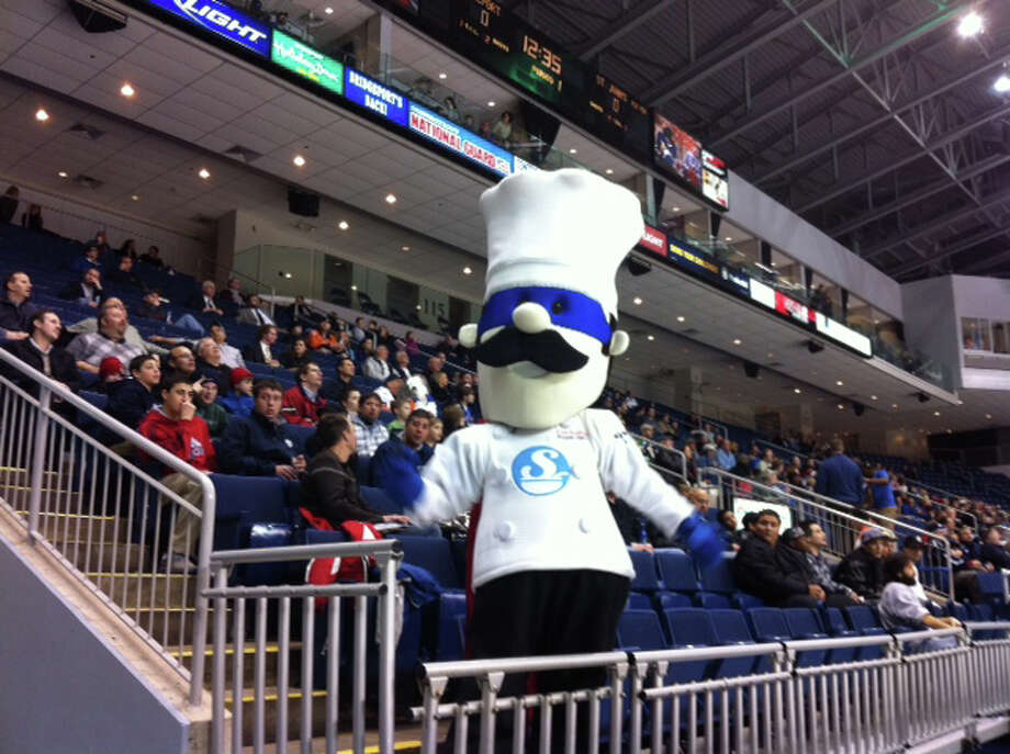 Chef Quahog, the mascot for the annual Chowdafest competition, plans to be at the Webster Bank Arena at Harbor Yard in Bridgeport, Conn., Sunday, Feb. 3, 2013, for the event, which runs 11 a.m. to 4 p.m.. This is the fifth year of the event, which also benefits Connecticut Food Bank. For more information, visit http://www.chowdafest.org. Photo: Contributed Photo