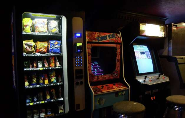 The Ticket offers customers old-school games and treats. Robin Johnson Photo: Robin Johnson
