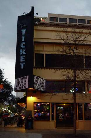 The Ticket is one of San Antonio's supreme spots for catching the big game with several big screen TVs, drink specials, a select menu and traditional bar games. Robin Johnson Photo: Robin Johnson