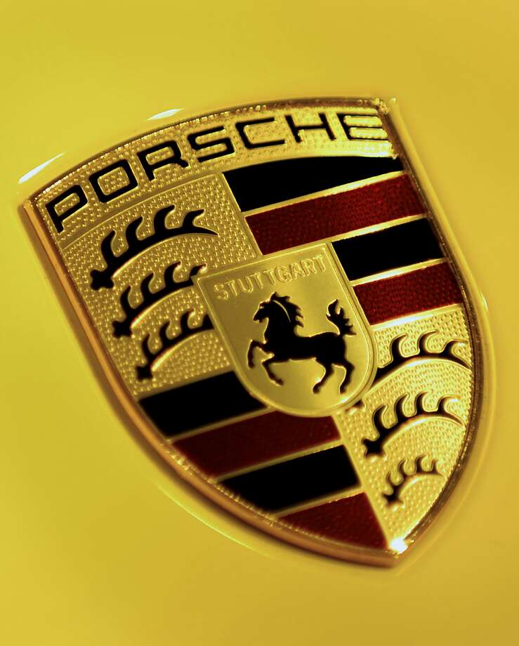 Porsche: There a few stories about the history of the Porsche logo. One tale says Max Hoffman, an automobile distributor, met with Ferry Porsche and suggested the company needed a strong logo. According to that story, the rough sketch was drawn on a napkin at a Manhattan restaurant.The other story claims Franz Xaver Reimspiess created the logo after Hoffman made the suggestion to Porsche.Source: Road & Track
