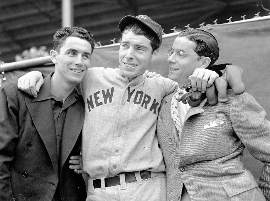 Joe was the most famous of the DiMaggio brothers, but his two brothers, Vince, left, and Dom, right, were also big leaguers.All three were born in Martinez, California and each played with the San Francisco Seals of the Pacific Coast league at various points in their careers. Photo: AP / 1958 AP