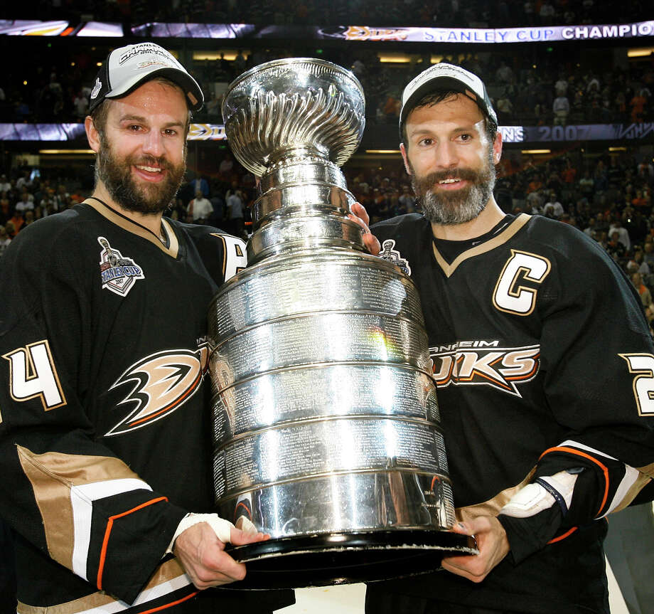 But there's always Scott Niedermayer, right, and his brother Rob Niedermayer, pictured here holding the Stanley Cup after the Ducks won the finals in 2007. Photo: Mark Avery, ASSOCIATED PRESS / AP2007