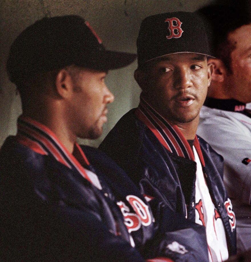 Pedro Martinez, right, is the more famous of the Martinez brothers, but Ramon pitched for 13 years in the bigs, throwing a no-hitter in '95. Photo: JIM ROGASH, ASSOCIATED PRESS / AP1999
