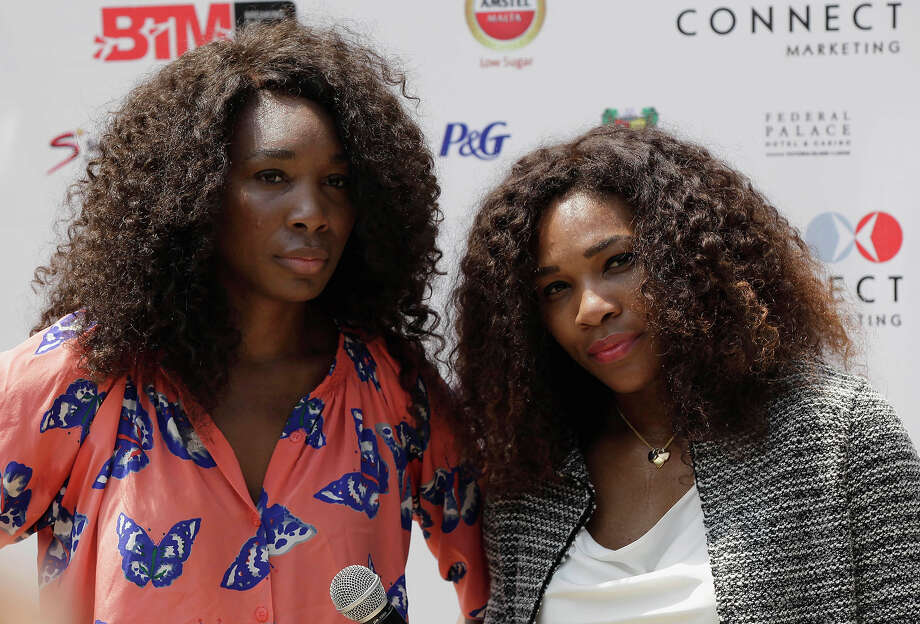If you are counting numbers, the Williams Sisters (Serena, left, and Venus, right) are probably the most successful siblings in sporting history, they have 15 grand slam singles titles between them. Photo: Sunday Alamba, ASSOCIATED PRESS / AP2012