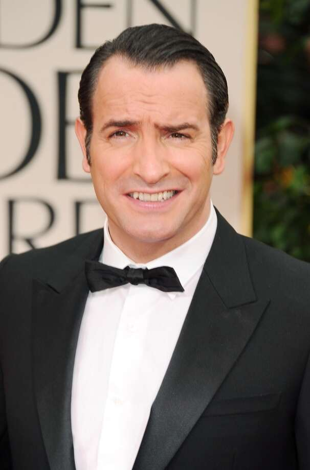 John of the Garden -- better known as Jean Dujardin -- shown here on January 15, 2012, during last year's Oscar campaign.