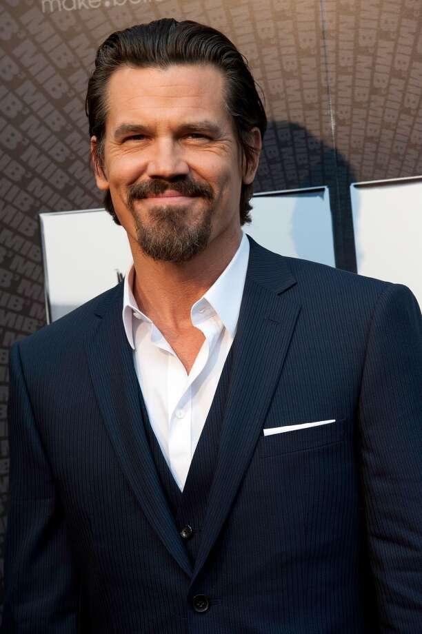 Josh Brolin, star of GANGSTER SQUAD and better movies, shown here in Paris, 2012.