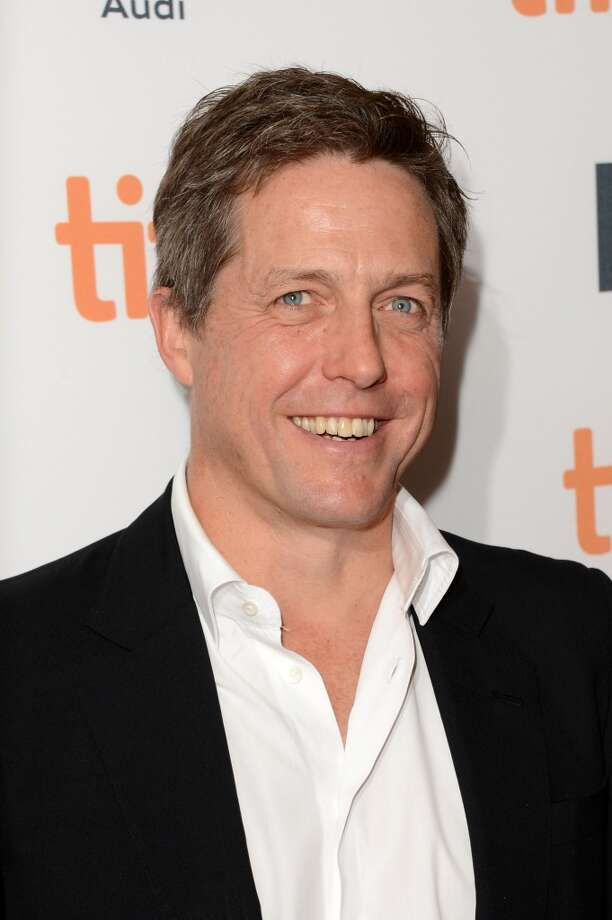 Hugh Grant -- one of the stars of CLOUD ATLAS.