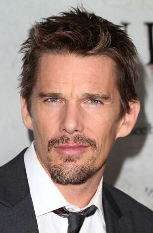 Ethan Hawke -- star of SINISTER -- but more to the point, the star of the upcoming BEFORE MIDNIGHT, which got a rhapsodic reception at Sundance.