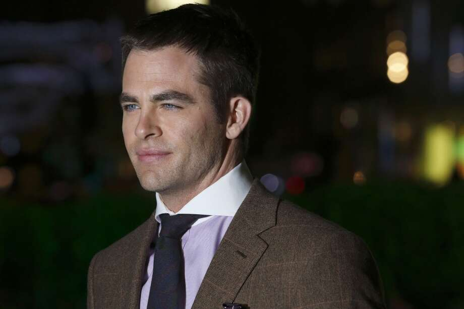 Chris Pine -- wasted in THIS MEANS WAR.