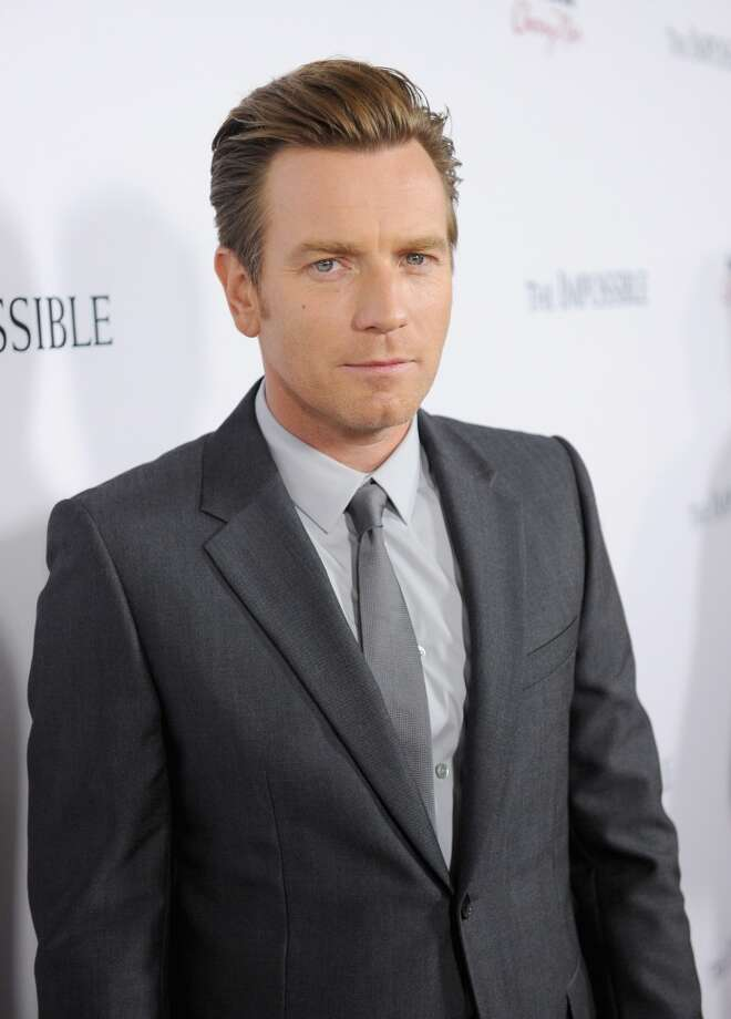 Ewan McGregor -- who played the drenched, stressed-out father in THE IMPOSSIBLE.