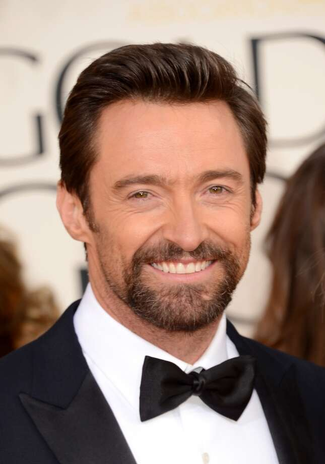 Hugh Jackman -- handsome star, with a reputation for being a really nice guy.  I wish I could tell you about OTHER people's reputations.