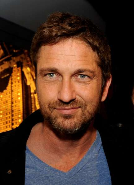 Gerard Butler -- charismatic star of PLAYING FOR KEEPS.