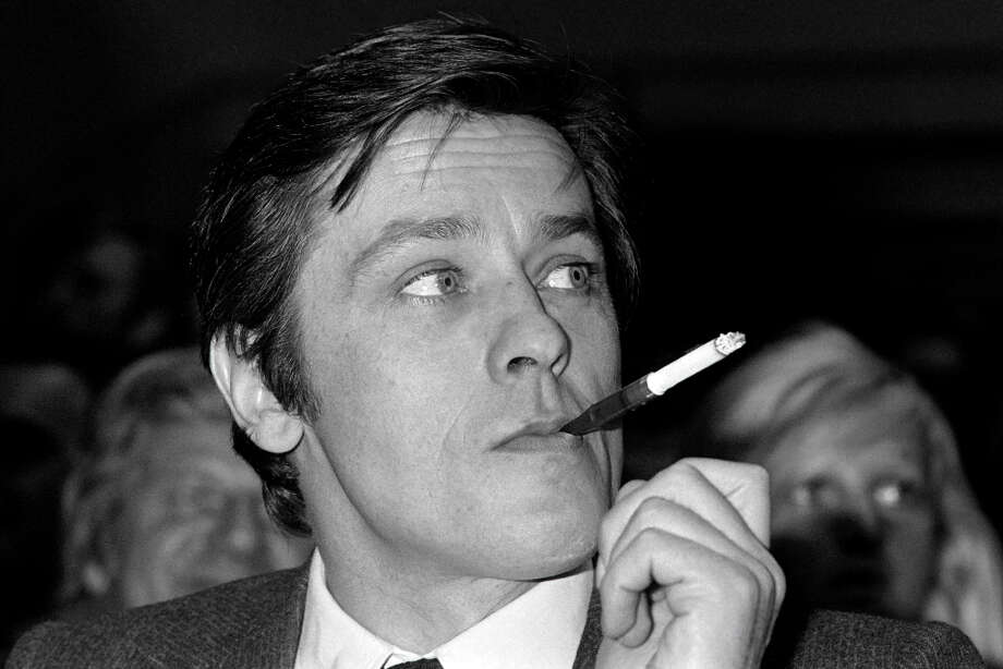 Alain Delon -- handsome French actor of a number of classics, including PURPLE NOON. Photo: AFP, AFP/Getty Images / 2012 AFP