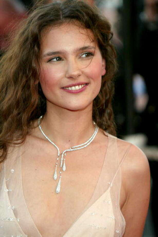 Virginie Ledoyen --this beautiful French actress, with an unexpectedly low voice, has been around since 1995, but she really connected with American audiences this year, as the queen's favorite in FAREWELL, MY QUEEN. Photo: Evan Agostini, Getty Images / 2003 Getty Images