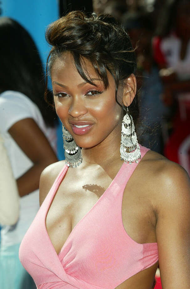 Meagan Good -- underused, arresting actress, one of the stars of THINK LIKE A MAN.