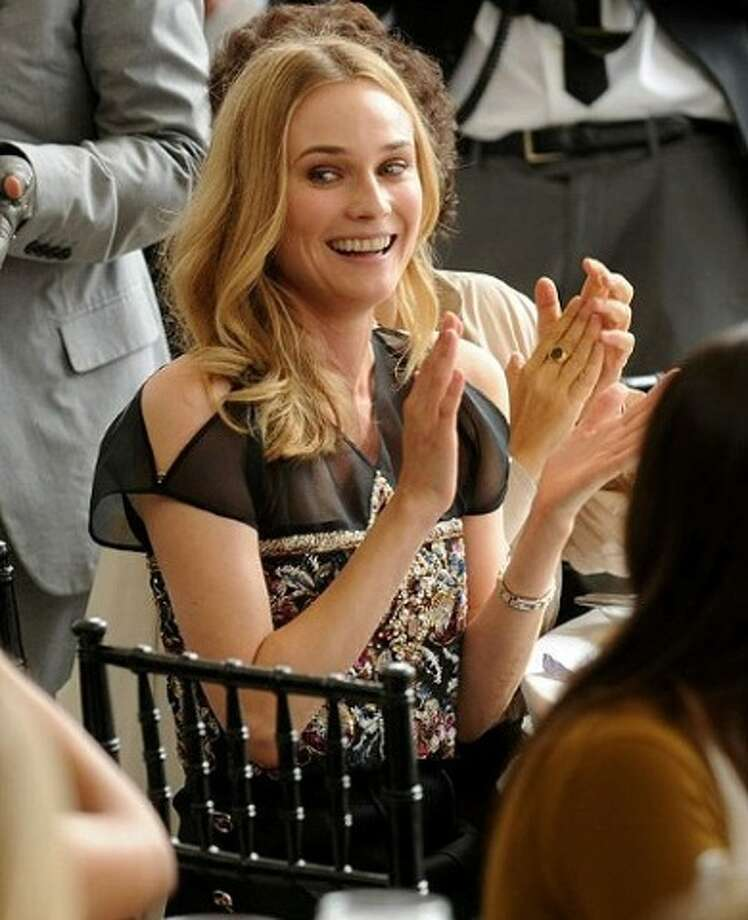 Diane Kruger -- this German actress is best known in the US and particularly in France (where they pronounce her name diONN KruGAIRE).  She was brilliant as Marie Antoinette in FAREWELL MY QUEEN.
