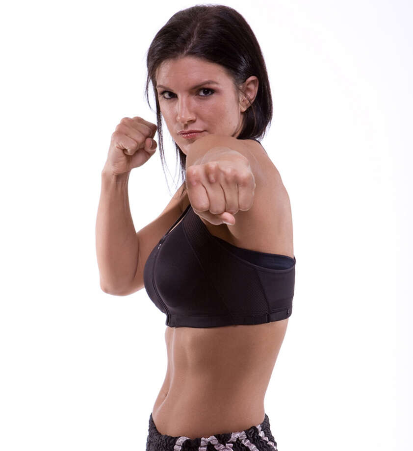Gina Carano -- the star of Soderbergh's HAYWIRE.