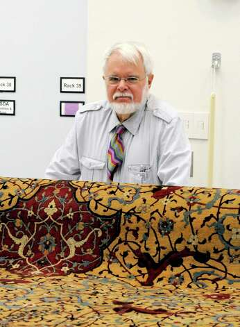 "The Greenwich Antiques Society is presenting a lecture, ""Carpets at the Metropolitan: How America's Largest Art Museum Shows Carpets from the Islamic World,"" on Feb. 4, at 1 p.m., at the Bruce Museum. Walter B. Denny, above, author and scholar on Oriental carpets, Denny will share the behind-the-scenes story of the selection and display of these works of art. Photo: Contributed Photo"