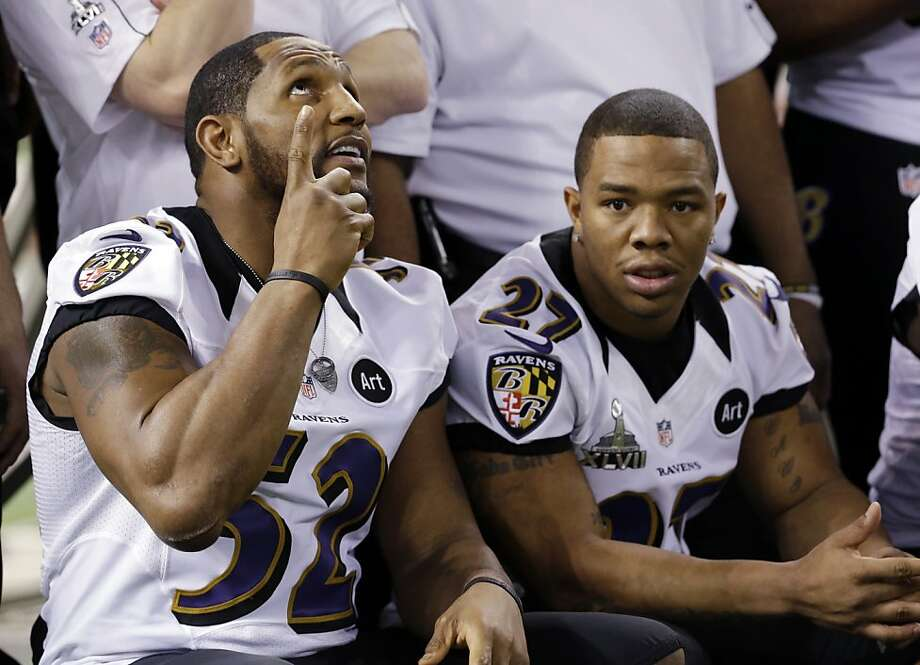 """If Ray Lewis is interviewed after the game on the field or in the locker room, how many times will he mention """"God/Lord""""?Line: Over/under 3 Photo: Pat Semansky, Associated Press"""
