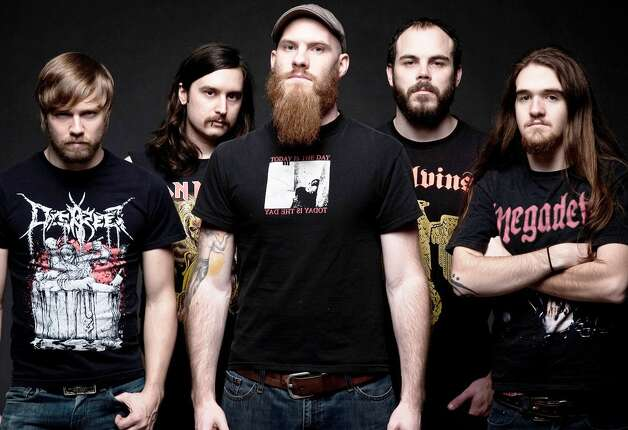 North Carolina technical death-metal band Wretched plays Monday at the White Rabbit. Courtesy Victory Records Photo: Courtesy Victory Records