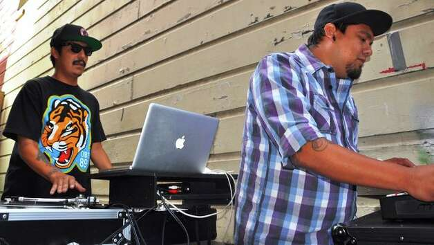 Hip-hop duo Chisme plays on Saturday at Hi-Tones. Courtesy photo Photo: Courtesy Photo