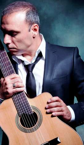 Canadian-Greek guitarist and composer Pavlo performs on Wednesday at Sam's Burger Joint. Courtesy photo Photo: Courtesy Photo