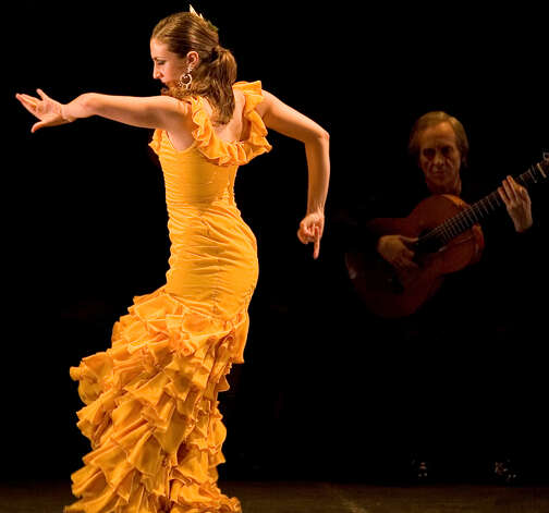 "Celebrated flamenco guitarist Paco Pena, right, will be bringing his new show ""Flamenco Vivo"" to the Palace Theatre in Stamford, Conn., Saturday, Feb. 2. Get ready for an evening of song and dance that honors this centuries-old tradition. For information on tickets, visit http://www.scalive.org or call 203-325-4466. Photo: Contributed Photo"
