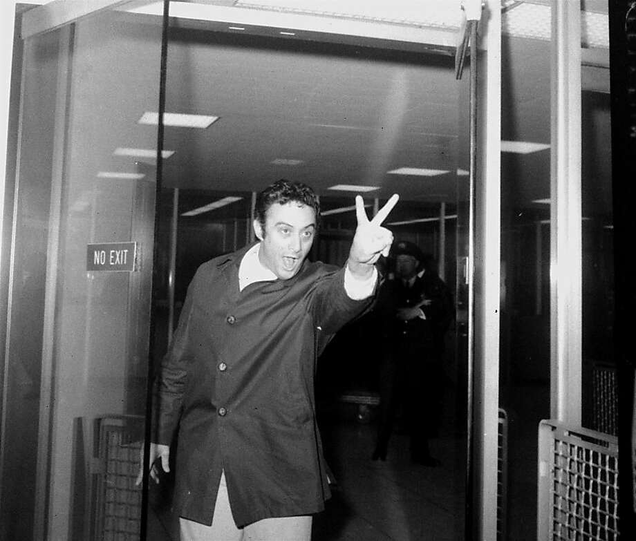 Lenny Bruce returned to S.F. in 1963 after being arrested in 1961. Photo: John Lindsay, AP