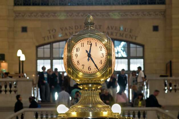 Grand Central Terminal in New York City will kick off a full year of activities Friday, Feb. 1, 2013, as part of its 100th anniversary celebration. Art exhibitions, musical and dance performances, ceremonies, lectures and tours will be featured throughout the year. The fun begins with opening ceremonies at 10 a.m. on Feb. 1. For more information, visit http://www.mta.info/gct/birthday.html. Photo: Contributed Photo