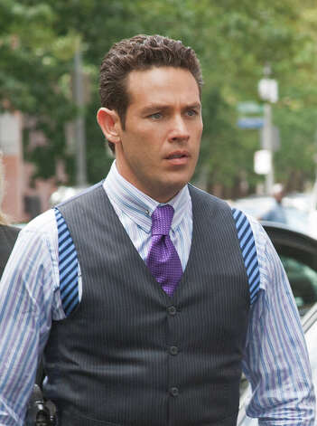 "Kevin Alejandro stars as Homicide Detective Christian Arroyo, in the new CBS drama ""Golden Boy."" Photo: JoJo Whilden / ©2012 CBS Broadcasting, Inc. All Rights Reserved"