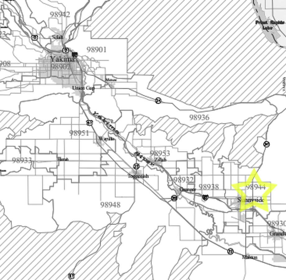 15. 98944: In this Sunnyside-area ZIP code, the average worker earned $17,602 in pay annually. Photo: /