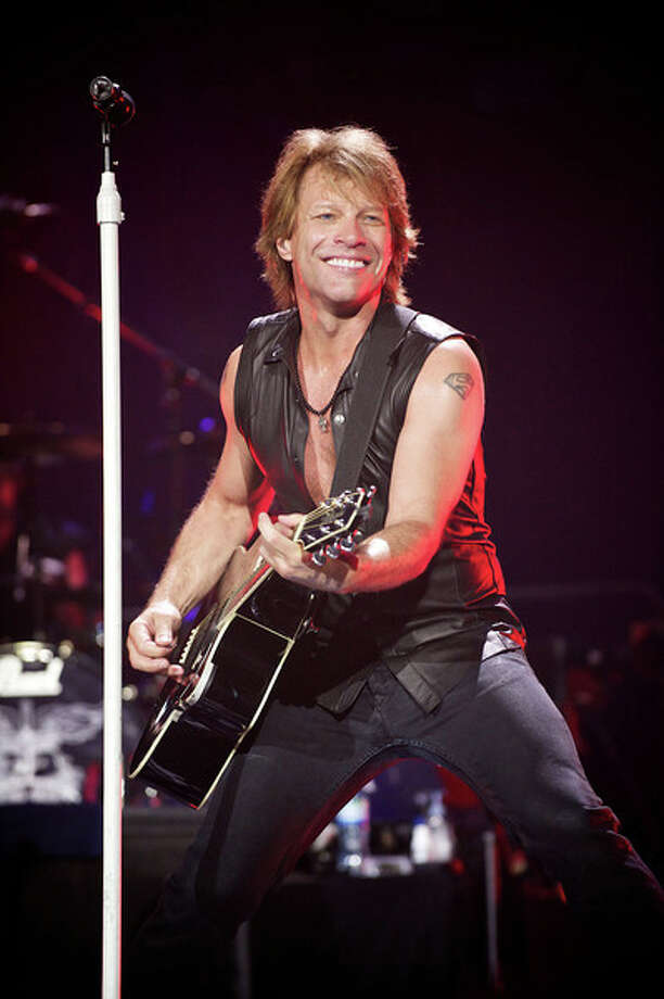 Rocker Bon Jovi performs at Mohegan Sun Arena in Uncasville on Saturday, Feb. 9, 8 p.m. Tickets, at $195 and $125, are available via Ticketmaster.com Photo: Contributed Photo/David Bergman, Contributed Photo / The News-Times Contributed