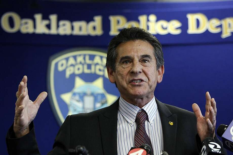 """This madness that's happening in the city of Oakland must end,"" said City Councilman Noel Gallo. Photo: Sean Havey, The Chronicle"