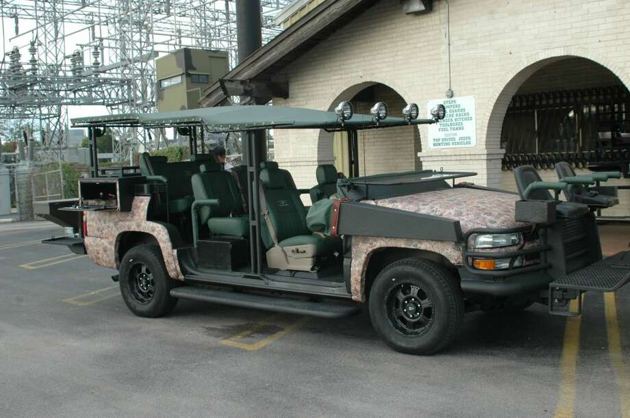 A custom hunting vehicle built by South Texas Outfitters is seen in an undated courtesy photo provided Jan. 29. 2013 by the company. The company creates custom and specialized truck accessories as well as custom vehicles. Photo: COURTESY / COURTESY OF SOUTH TEXAS OUTFITTERS