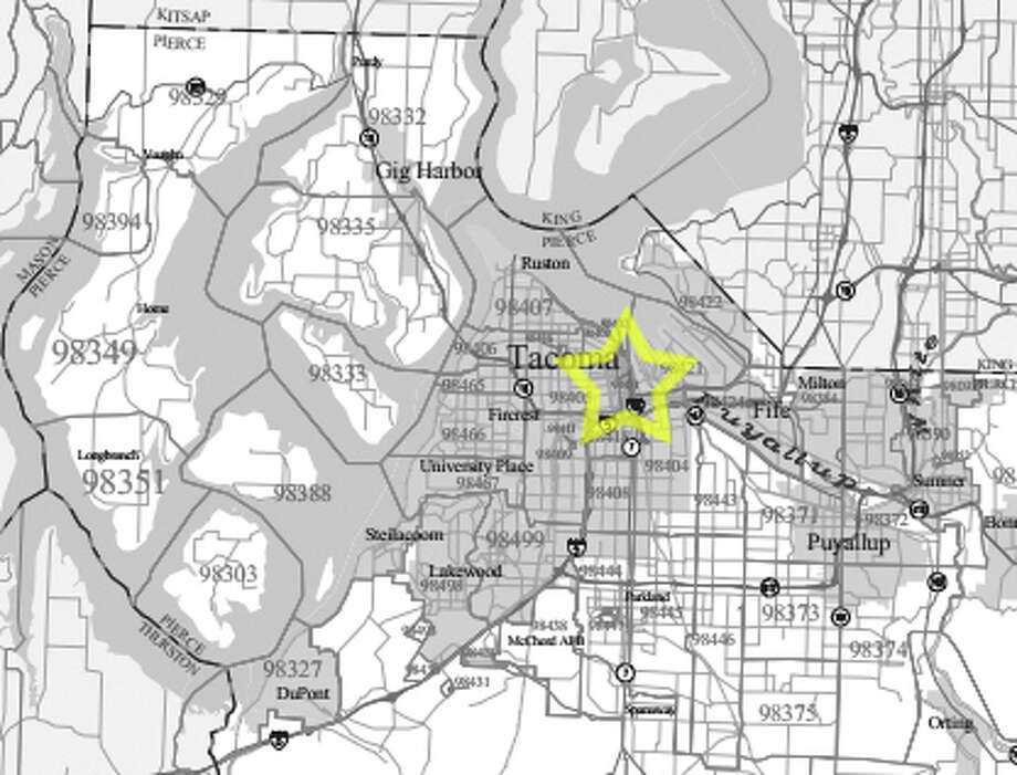 6. 98402: The median family size in this Tacoma ZIP code is 2.34 people. Photo: /
