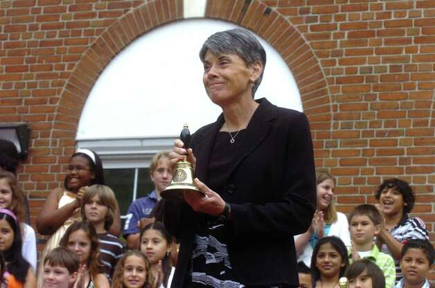 Nancy Carbone, a retired Greenwich Public Schools principal shown here in 2009, will remain the interim principal at Cos Cob School through the end of the school year, the schools chief announced Tuesday, Jan. 29, 2013. Photo: Neafsey,Helen, GT / 00010142A