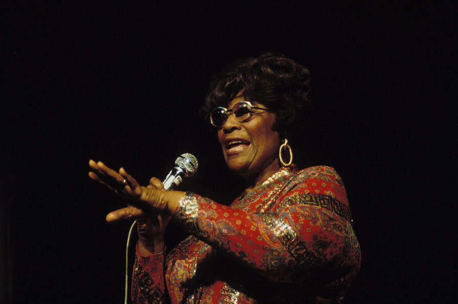FRANCE - MARCH 28:  Ella Fitzgerald concert at the Salle Pleyel in Paris, France on March 28, 1974.