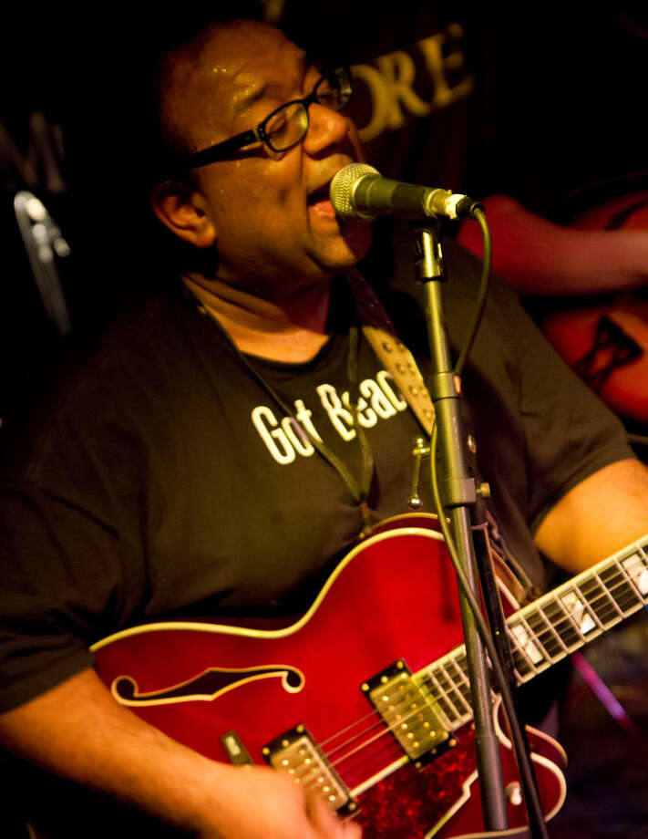 Direct from N'awlins: guitarist Nardy Boy returns to Connecticut to perform at Black Rock Rocks Mardis Gras fundraiser on Saturday, Feb. 9. Photo: Contributed Photo