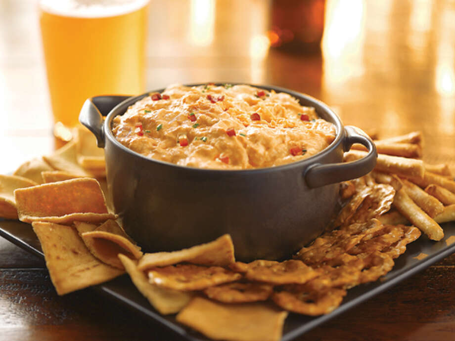 Frank's RedHot Buffalo Chicken dip - it's still a finger food, but you probably won't need wet wipes.  Photo: Frank's RedHot