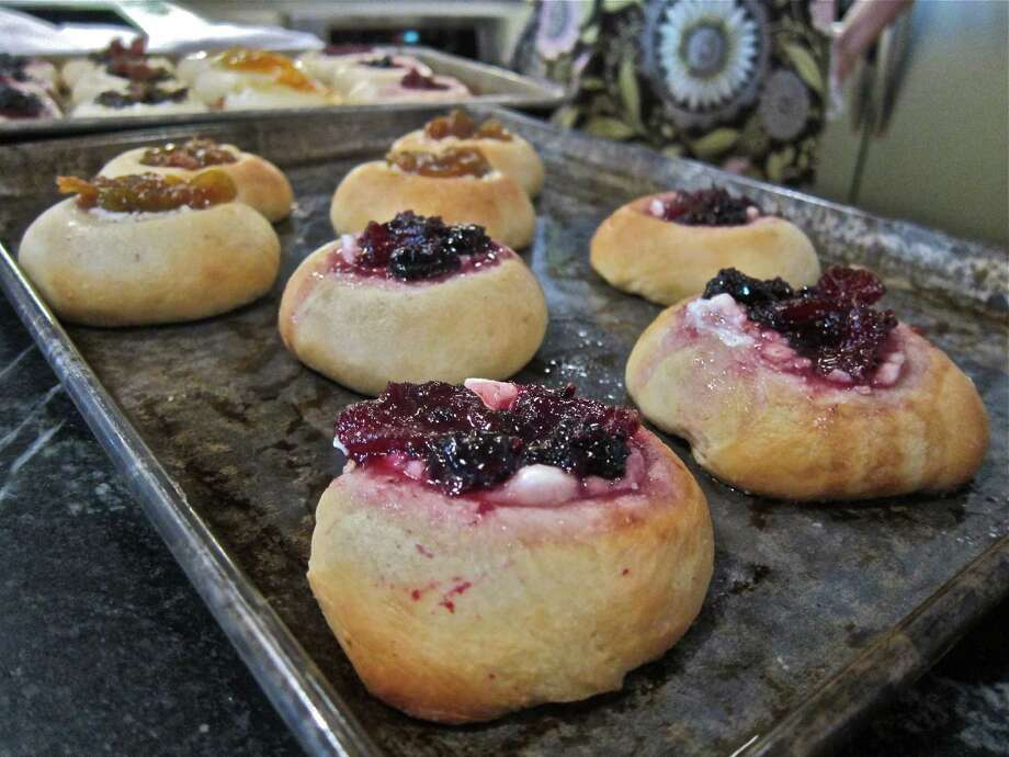 Finished kolaches at the home of Victoria Rittinger. Photo: Alison Cook