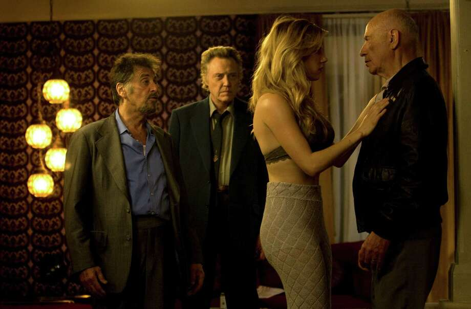 "Al Pacino, from left, Christopher Walken, Lucy Punch and Alan Arkin star in ""Stand Up Guys."" Photo: Roadside Attractions"